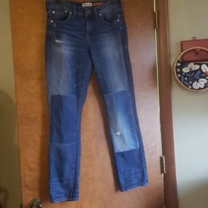 Madewell Knee Patch Slim Boyjean 28